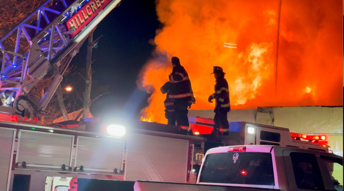 Fire at Evergreen Nursing Home in Spring Valley