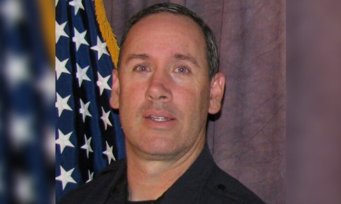 Officer Eric Talley in a file photo. (Courtesy of Boulder Police Department via AP)