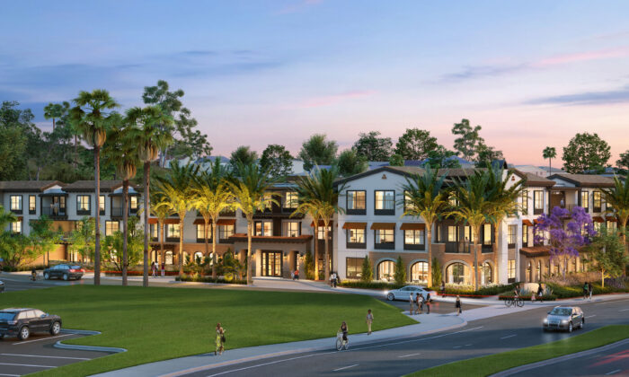 Developers have broken ground on a 166,000-square-foot senior living community in Mission Viejo, Calif. (Courtesy of Confluent Senior Living)
