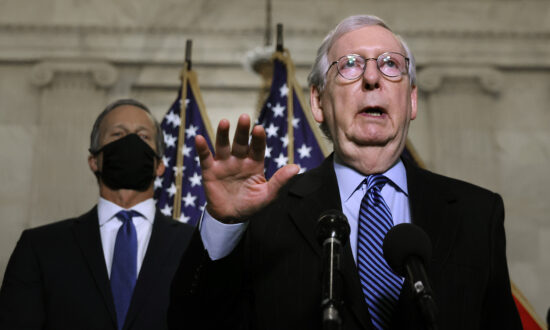 McConnell Calls CEO Pushback Against Georgia Election Integrity Law 'Stupid'