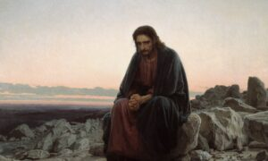 The Struggle of Temptation: 'Christ in the Wilderness'