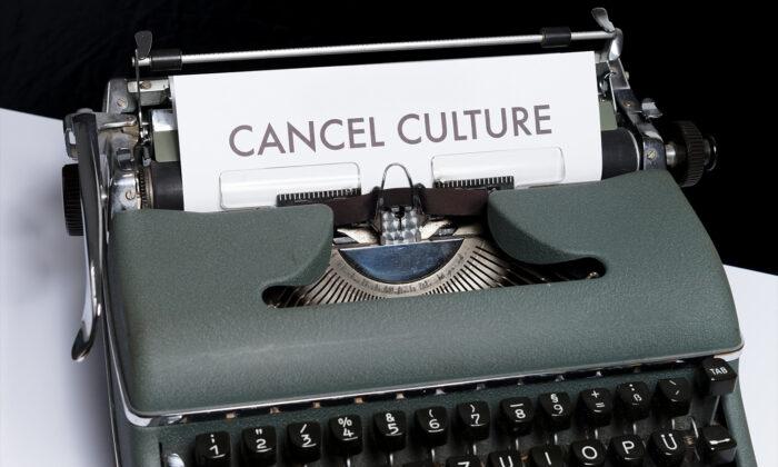 The words 'cancel culture' typed on a typewriter. (Markus Winkler/Unsplash)