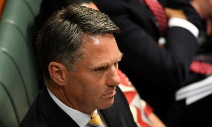 Deputy Opposition Leader Richard Marles in the House of Representatives at Parliament House on September 18, 2019, in Canberra, Australia. (Tracey Nearmy/Getty Images)