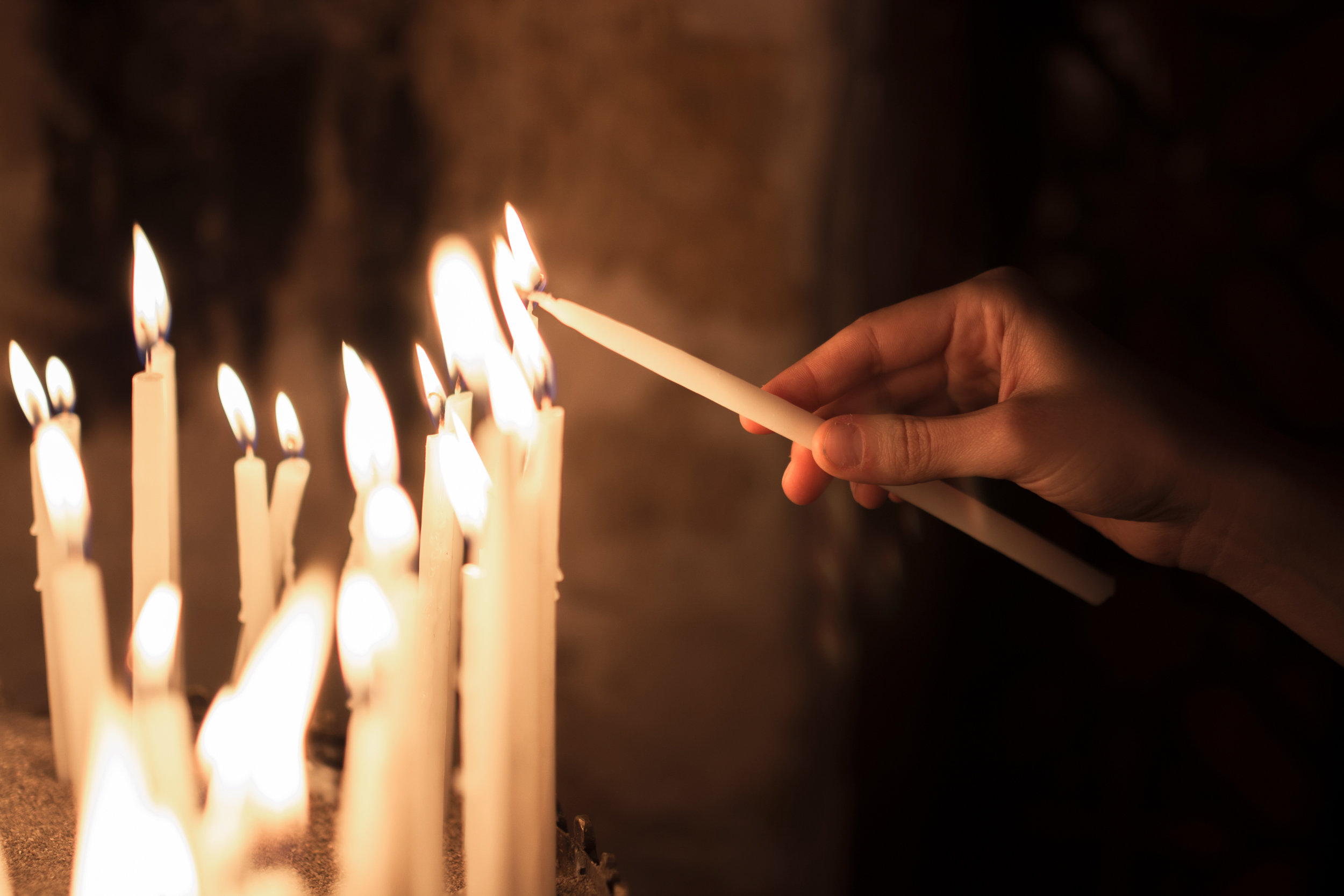Lighting candles is a part of many rituals. (Shutterstock)