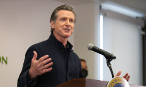 Vaccines Will Become Available to All in Mid-April, Newsom Says During Orange County Visit