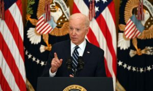 Biden Holds First Press Conference of Presidency, Defends Immigration Response