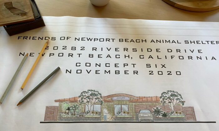Newport Beach's first permanent animal shelter is expected to open in summer 2022. (Courtesy of the Friends of Newport Beach Animal Shelter)