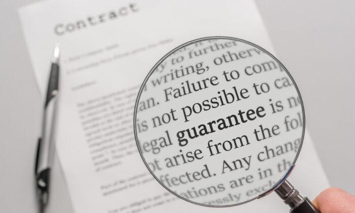 Always read the fine print. (Ralf Geithe/Shutterstock)