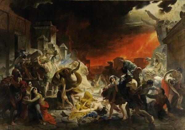 Karl Bryullov's Last Day of Pompeii