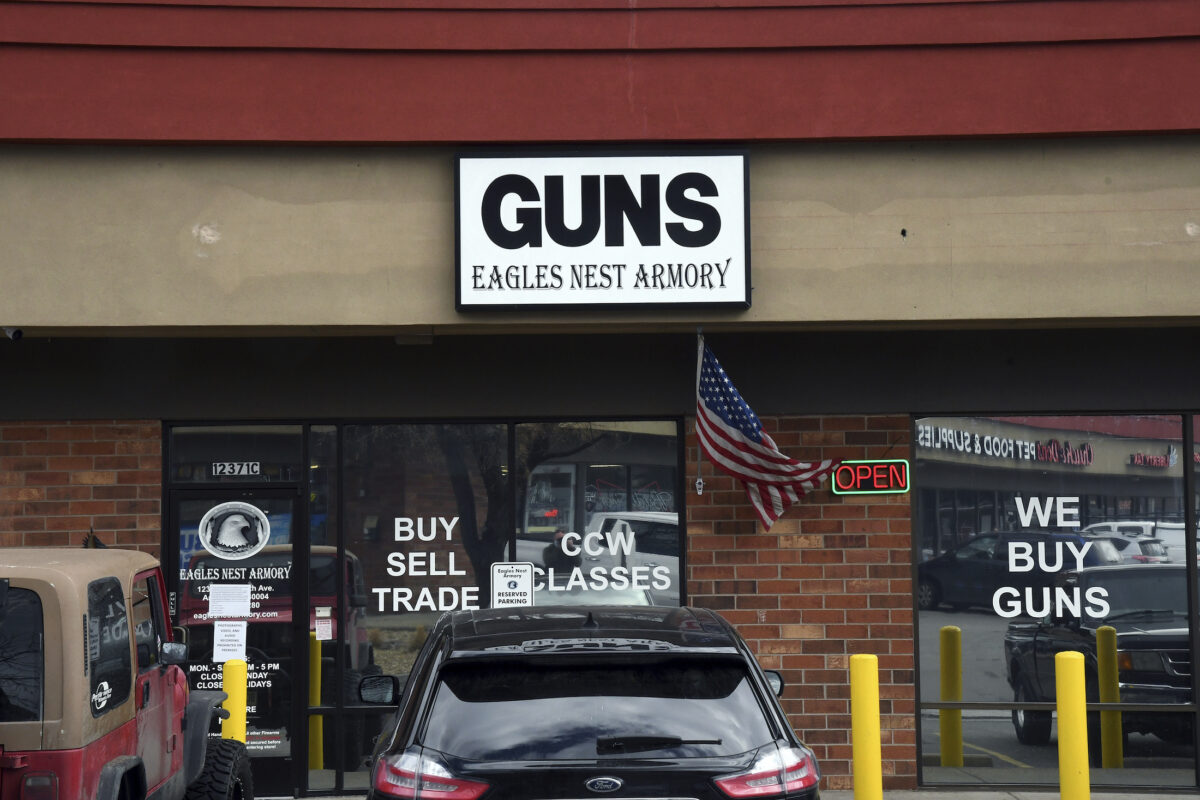 the Eagles Nest Armory gun shop