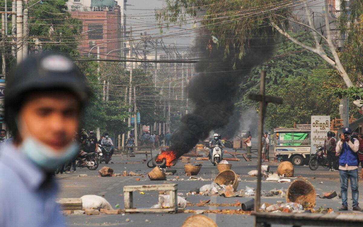Burmese protest