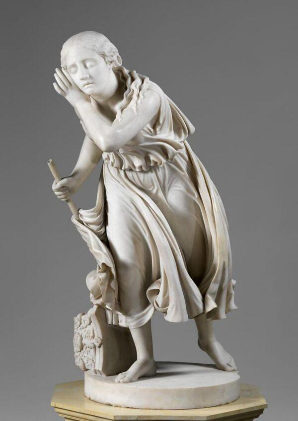 NY Met - Nydia the Blind Flower Girl of Pompeii_