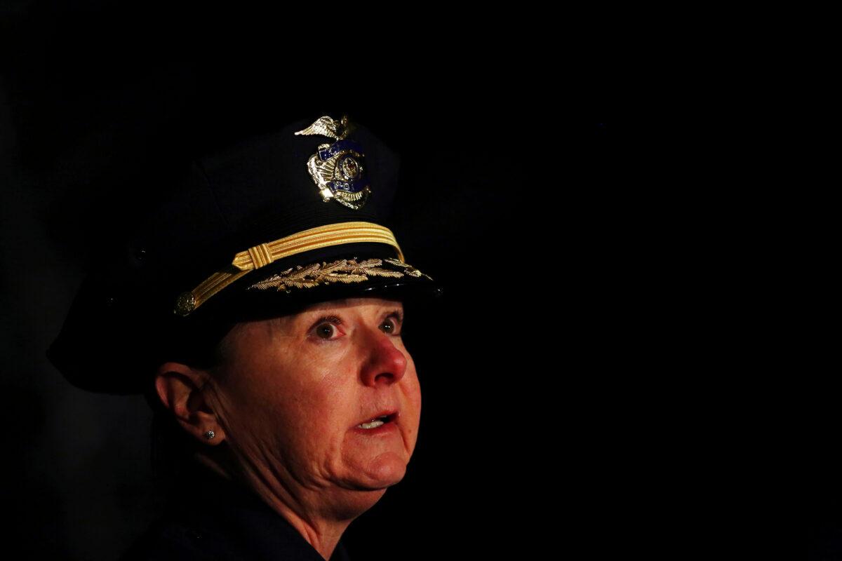 Boulder Police Chief Maris Herold