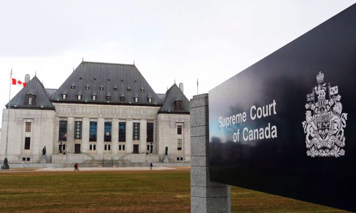 The Supreme Court of Canada in Ottawa in a file photo. (The Canadian Press/Sean Kilpatrick)