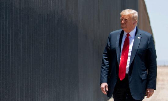Trump Addresses Border Crisis in Wedding Speech at Mar-a-Lago