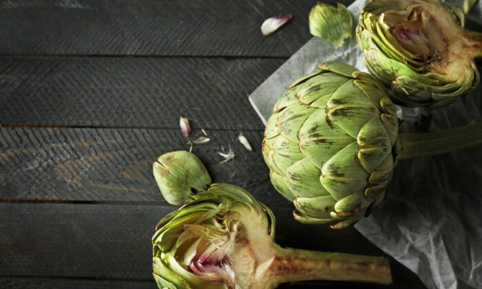 Artichokes are at their peak in the spring. (Africa Studio/shutterstock)