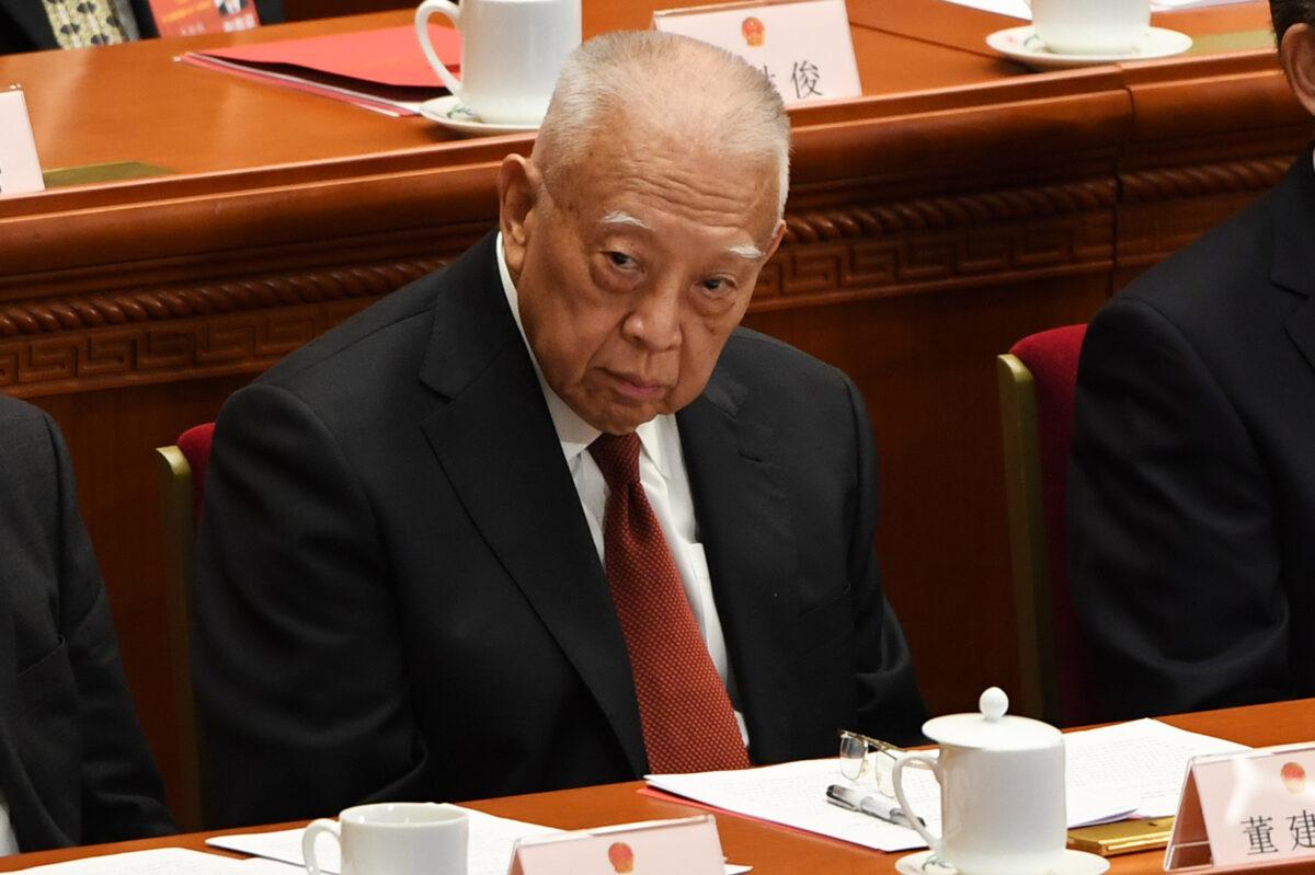 Former Hong Kong Chief Executive Tung Chee-hwa