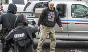 Man Who Displayed Gun at Antifa Protest Was a Victim, Police Say