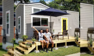Couple Build Tiny Home to Pay Off $125,000 Debt in 2 Years, Embrace 'Tiny Lifestyle'