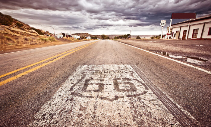 Shops and diners along Route 66 conjure memories of the highway's heyday. (Courtesy of Andrey Bayda/Dreamstime.com)