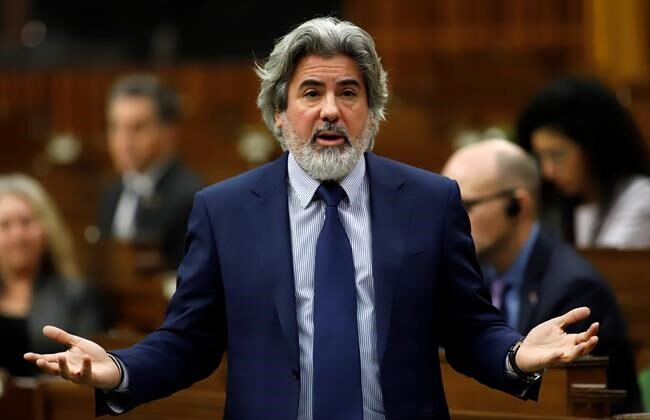 Leader of the Government in the House of Commons Pablo Rodriguez responds to a question  in the House of Commons on Parliament Hill in Ottawa on December 11, 2020. (Patrick Doyle/The Canadian Press)