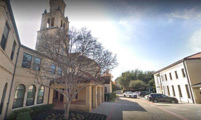 The Holy Trinity Catholic Church in Dallas (Google Maps)