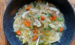 Elevate This Weeknight Soup With Orzo