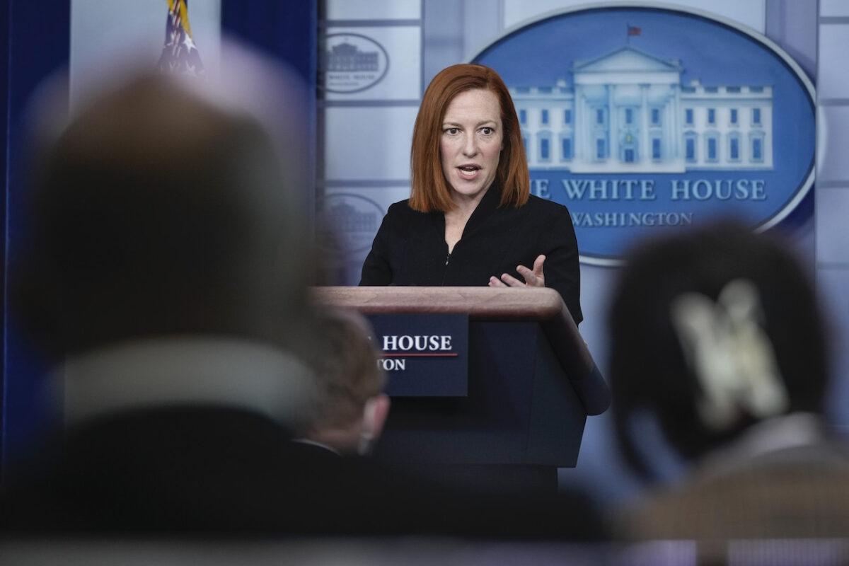 White House Press Secretary Psaki