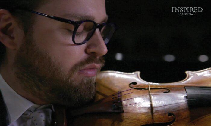 """Film still from """"Violino."""" Inspired Original. (Inspired Original)"""