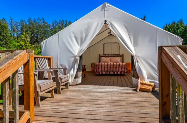 glamping west beach resort