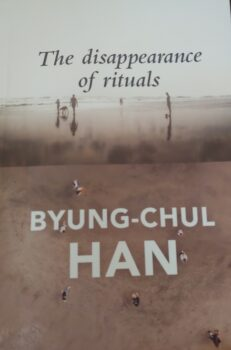 """Book cover for """"The Disappearance of Rituals"""" by Byung-Chul Han. (Courtesy of Polity Press)"""