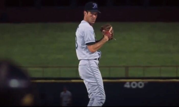 Sometimes dreams do come true. Dennis Quaid plays Jim Morris, a pitcher with a lightning-speed fast ball. (Walt Disney Pictures)