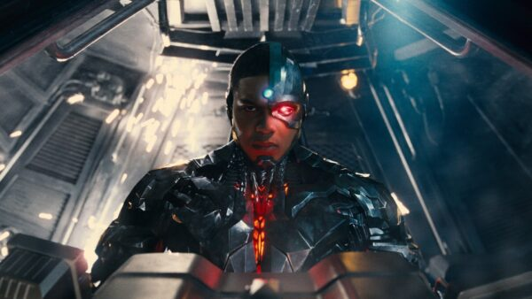 Ray FIsher as the Cyborg in Zack Snyder's Justice League