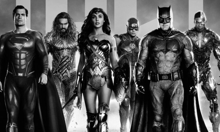"The Justice League in ""Zack Snyder's Justice League."" (Warner Bros. Pictures)"