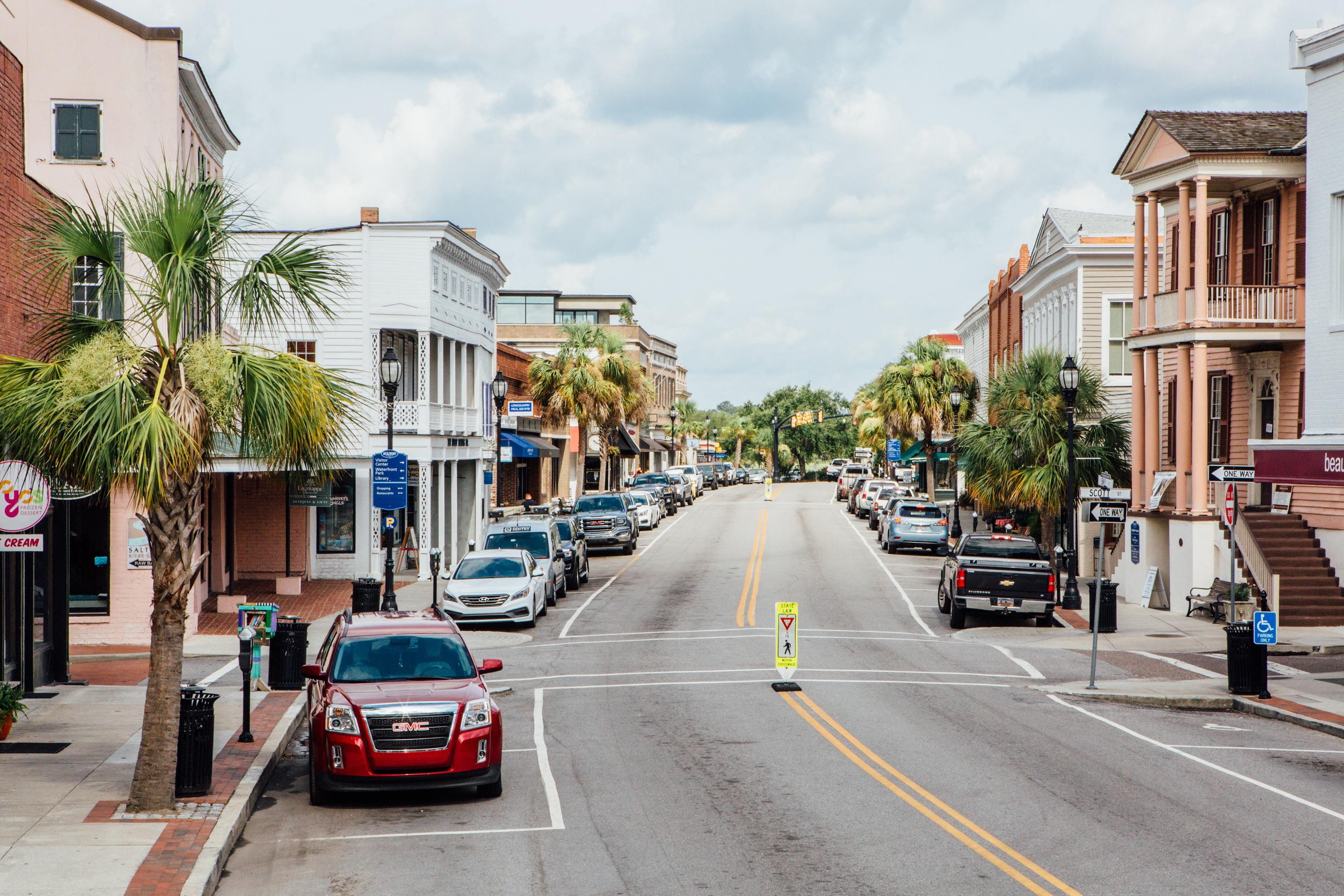 Downtown Bay Street