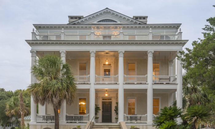 The historic Anchorage 1770 inn on Bay Street. (Courtesy of Visit Beaufort)