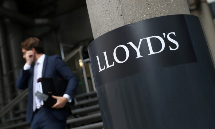 A man walks out of Lloyd's of London's headquarters in the City of London, Britain, July 31, 2018. (Simon Dawson/Reuters)