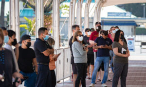 Large-Scale Vaccination Site Opens at Costa Mesa Fairgrounds
