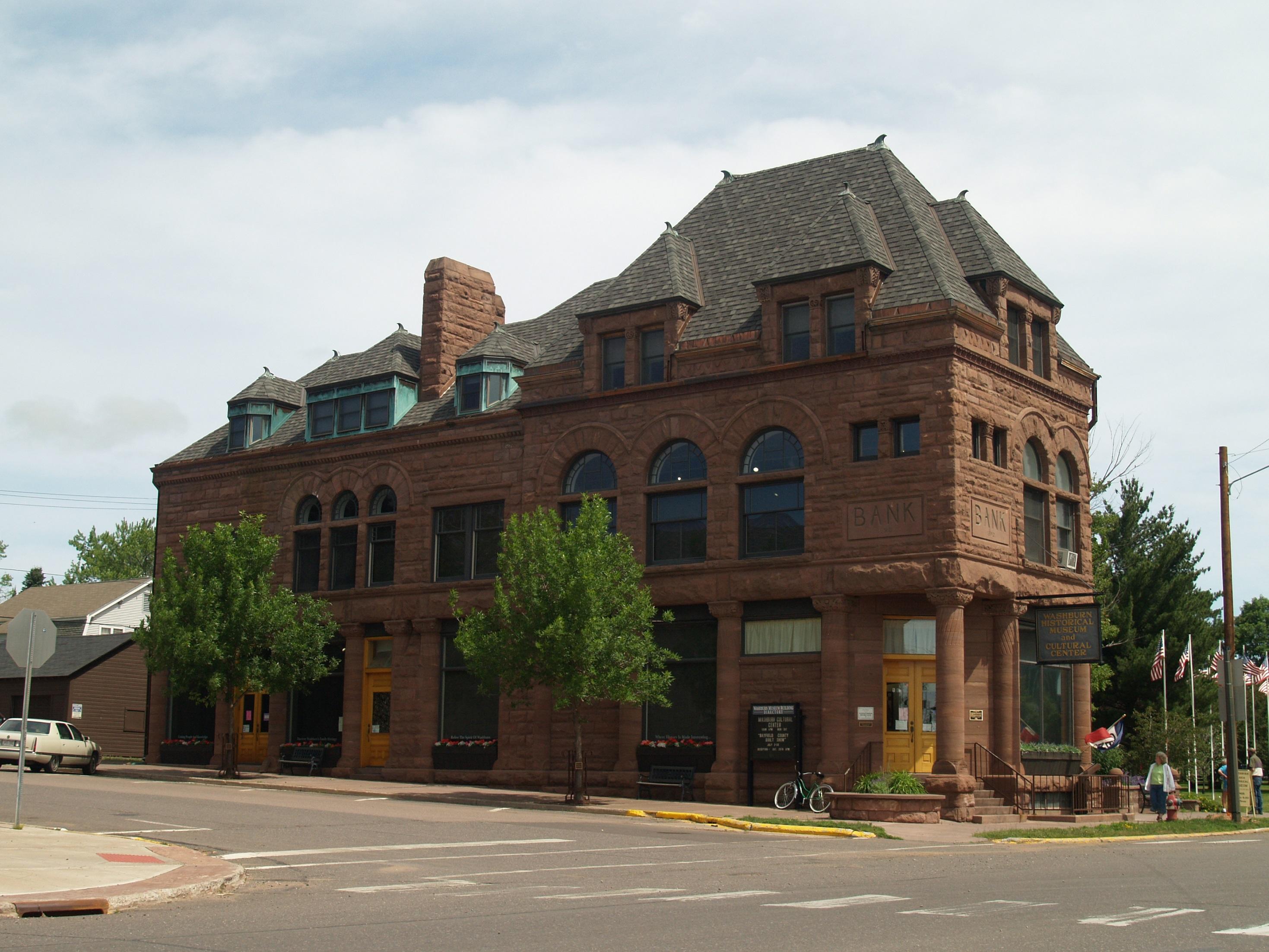 brownstone bank building