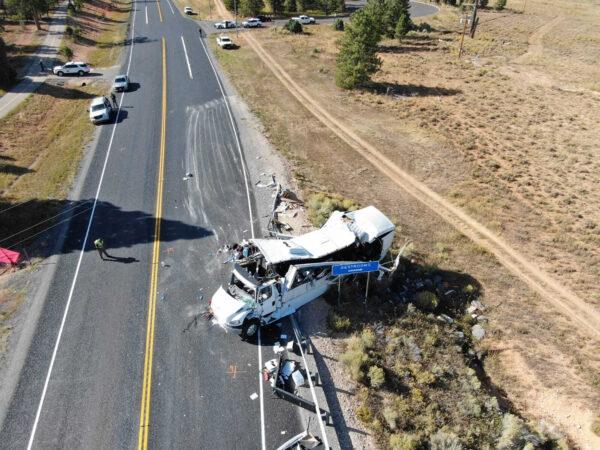 Tour Bus Crash