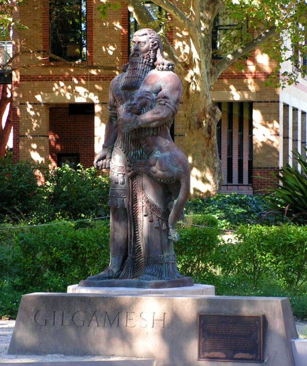 gilgamesh statue
