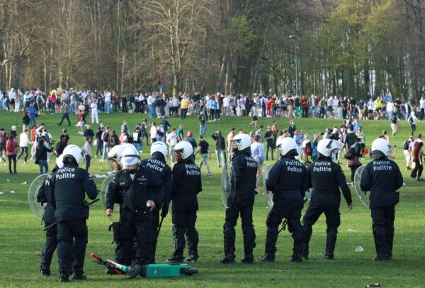police-party-belgium