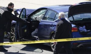 Suspect Who Rammed Car Into Capitol ID'd as Noah Green
