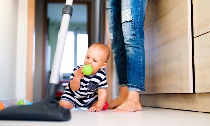 A study has linked exposure to household chemicals with impacts on the gut microbiomes of children, which may increase their risk of some diseases.(Halfpoint/Shutterstock)