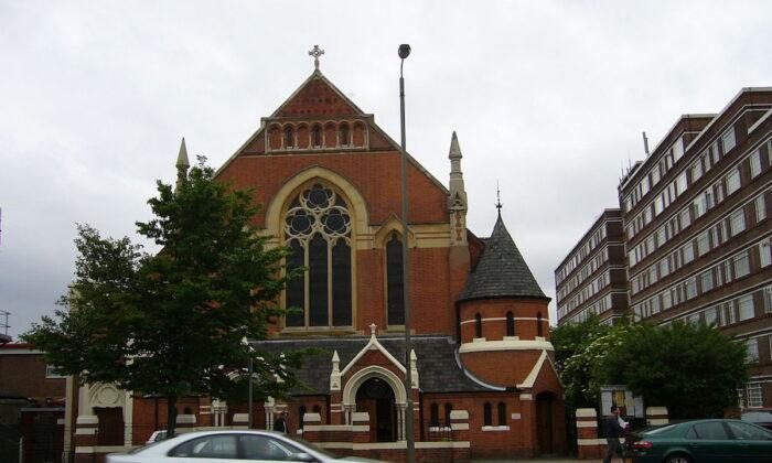 The Polish Roman Catholic Church of Christ the King in Balham High Road, Balham, London. (Roger W. Haworth/ Wikimedia)