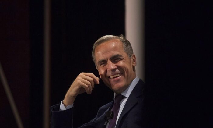 Mark Carney, a former governor of the Bank of Canada and the Bank of England, in a file photo. (The Canadian Press)