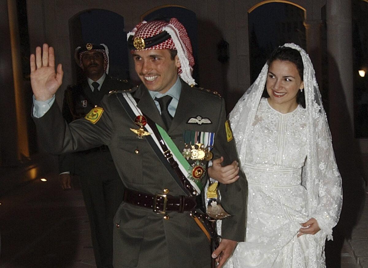 Jordan's Prince Hamzeh and his wife Princess Noor