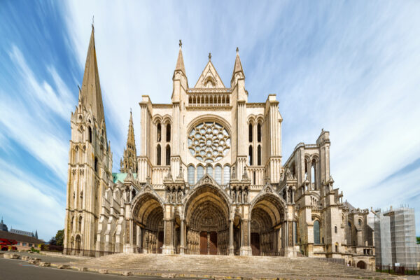 Chartres,,France,-,May,22,,2017:,View,South,Side,Of