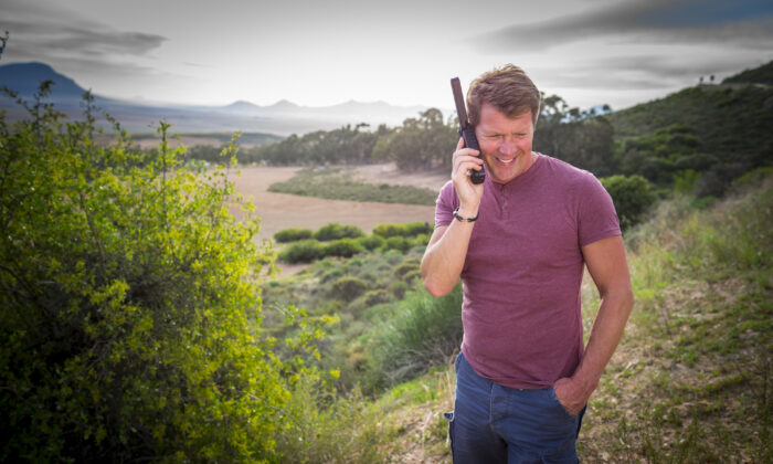 In remote areas with no cell phone connectivity, satellite phones have proved to be invaluable. (Courtesy of the Satellite Phone Store)