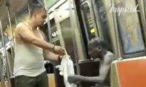 Kindness Act on New York Subway